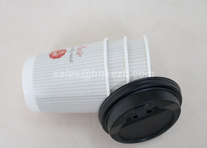 Disposable Single Wall White Vending Paper Cups For Coffee Drinking