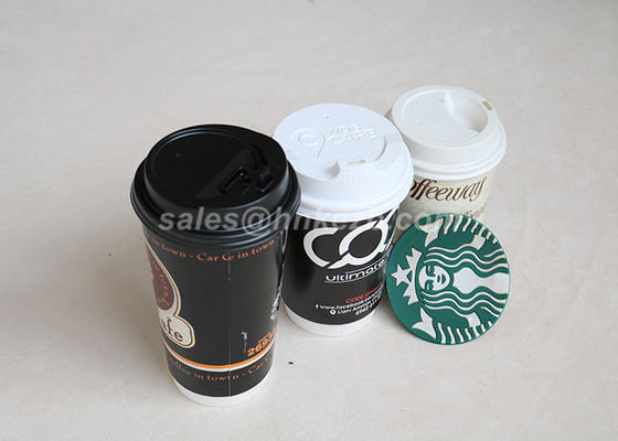8/12 / 16oz Disposable Custom Cốc cà phê Disposable Cup Biodegradable Đối với Wedding Party